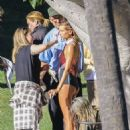 Hailey and Justin Bieber – On the set of a Photoshoot in Los Angeles