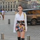 Zoey Deutch – Arriving at Dior Dinner in Paris - 454 x 681