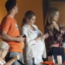 Kate Upton at the Minute Maid Park in Houston