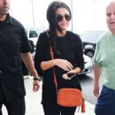 Selena Gomez Arrives At Jfk Airport In Nyc