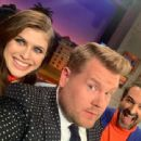 Alexandra Daddario – The Late Late Show with James Corden - 454 x 340