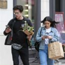 Camila Mendes and Charles Melton – Shopping in Vancouver