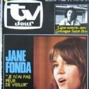 Jane Fonda - TV Jour Magazine Cover [Belgium] (9 August 1978)