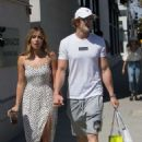 Chloe Bennet and boyfriend Logan Paul – Shopping in Beverly Hills - 454 x 639