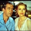 Jimmy Stewart and Grace Kelly