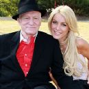 Hugh Hefner and Crystal Harris - 240 x 320