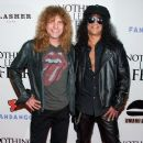 Slash arrives at the screening of Anchor Bay Films' 'Nothing Left To Fear' on September 25, 2013 in Hollywood, CA
