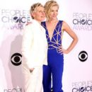 Portia de Rossi attend The 41st Annual People's Choice Awards at Nokia Theatre LA Live on January 7, 2015 in Los Angeles, California - 396 x 594