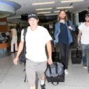 Maroon 5 Members Depart LAX