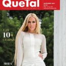 Tania Ruiz - Qué Tal? Magazine Cover [Mexico] (October 2017)