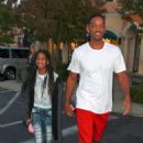 Will Smith was spotted out with Willow, yesterday, September 25, in Los Angeles