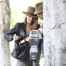 Nikki Reed and Ian Somerhalder spotted heading to the Sunset Tower Hotel in Los Angeles, California on September 7, 2014