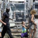 Heidi Klum, Seal and Family in New York