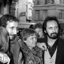 John Entwistle & Alison with Pete Townshend - 340 x 309