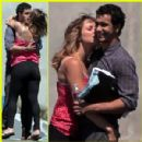 Katharine McPhee and Elyes Gabel - 300 x 300