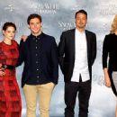 Kristen Stewart, Sam Claflin, Rupert Sanders and Charlize Theron