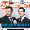 Ben Affleck - 24 hours toronto Magazine Cover [Canada] (21 March 2016)