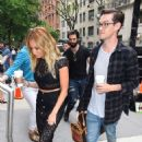 Ashley Tisdale Arriving At The Chew In Nyc