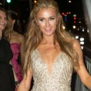Paris Hilton Leaving The Universal Music Groups Grammy After Party In Hollywood