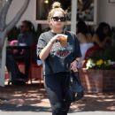 Ashley Benson – Grabbing an iced drink in Los Angeles - 454 x 680