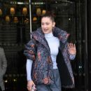 Bella Hadid – Leaves her hotel in Paris