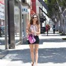 Cara Santana in Shorts – Shopping in West Hollywood - 454 x 528