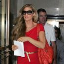 Denise Richards Leaving Her Hotel In Midtown Manhattan July 13 2008