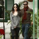 Megan Fox Leaving Zach's Cafe In Studio City, 2009-10-12