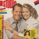 Moonlighting - Studio Magazine Cover [Croatia] (3 November 1989)