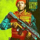 Jason Statham as Lee Christmas in The Expendables 3