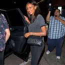 Jasmine Tookes at Craig's Restaurant in West Hollywood