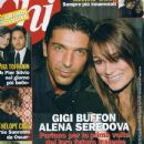 Gianluigi Buffon, Alena Seredova - Chi Magazine Cover [Italy] (September 2010)