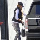 Sofia Vergara Leaving The Gym In West Hollywood