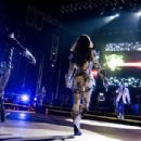Black Eyed Peas Performs in Concert in Barcelona