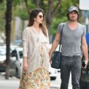 Nikki Reed with Ian Somerhalder out in Los Angeles - 454 x 648