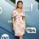 Storm Reid – 2020 Screen Actors Guild Awards in Los Angeles - 454 x 682