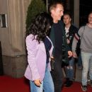 Salma Hayek and Francois-Henri Pinault – Leaving their hotel in New York