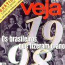 Ronaldo, Ana Paula Arósio, Adriane Galisteu, Ratinho, Luana Piovani, Suzana Alves, Netinho de Paula, Fernanda Souza - Veja Magazine Cover [Brazil] (23 December 1998)