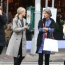 Dianna Agron in Long Coat – Out in New York - 454 x 584