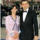 Rowan Atkinson and Sunetra Sastry - 200 x 293
