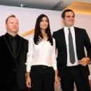 Tuba Buyukustun - a press conference in Egypt