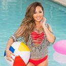 Adrienne Bailon - Cosmopolitan For Latinas Magazine Pictorial [United States] (August 2015) - 454 x 633