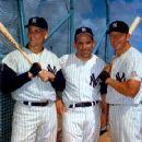 Roger Maris, Yogi Berra  & Mickey