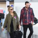 Kate Hudson at JFK airport in New York