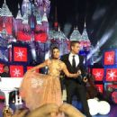 Lea Michele – Performs on stage for a ABC TV Christmas special at Disneyland Park in Anaheim