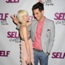 Gabe Saporta and Erin Fetherston - 374 x 594