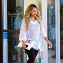 Blac Chyna and Rob Kardashian Out in Calabasas, California - April 21, 2016 - 415 x 600