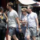 Kristen Stewart at Birds restaurant in Los Feliz
