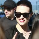 Katie McGrath – Greets fans after finishing up her Supergirl scenes in Vancouver July 18, 2017 - 454 x 681