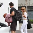 Chrishell Stause – All smiles as she finishes her dance practice in Los Angeles